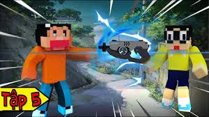 Minecraft Doremon Chú Mèo Máy Đến Từ Tương Lai (Bựa) Tập 5 - Khẩu Súng Dịch  Chuyển Tức Thời - YouTube