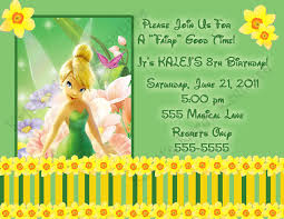 tinkerbell birthday invitations com tinkerbell birthday invitations some touches on your birthday to make it carry out glamorous invitation templates printable 17