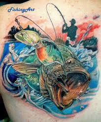 Fishing Funny Photo Follow Us Tetovani Tetování Und Ryby