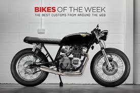 custom bikes of the week 11 february 2018 the best cafe racers scramblers