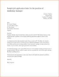 5 Application Letter For Employment Adjustment Letter