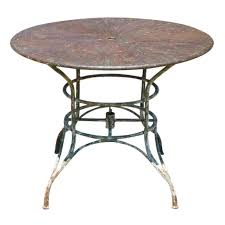round outdoor metal table garden table round metal luxury outdoor 7 collection in white patio