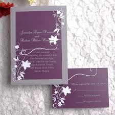 cheap rustic floral plum wedding invitations ewi001 coupon codes Wedding Invitations And Rsvp Cards Cheap purple and gray country rustic wedding invitations with free rsvp cards use coupon code wedding invitations and rsvp cards cheap