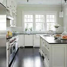 Interesting Black Kitchen Cabinets With White Tile Countertops House Granite Dark Counters Subway For Beautiful Design