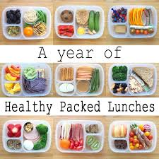 A Year Of Healthy Packed Lunches Video