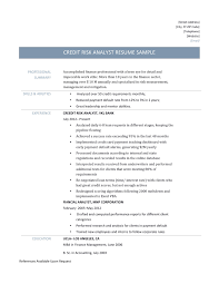 credit risk resumes template credit risk resumes