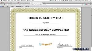Certificates Line Free Templates Make Certificate Online