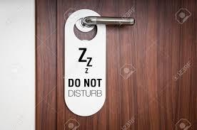 please lock door. Door Of Hotel Room With Sign Please Do Not Disturb Stock Photo - 77737545 Lock L