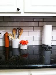 white subway tiles with black grout. Contemporary With On White Subway Tiles With Black Grout P