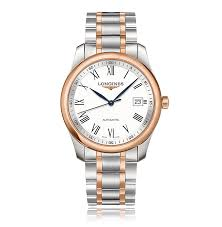 mens longines watches the watch gallery longines master steel rose gold automatic mens watch l27935117