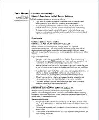 Customer Service Representative Resume Sample Best Resume Templates For Customer Service Representatives Customer