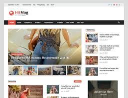 e magazine templates free download 042 blogger wordpress theme free download hitmag magazine