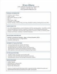 Resume Format Samples Nice Sample Best Career For Fre