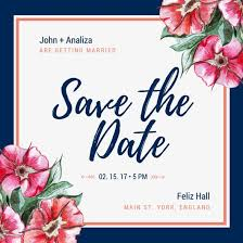 Reserve The Date Cards Customize 4 982 Save The Date Invitation Templates Online Canva