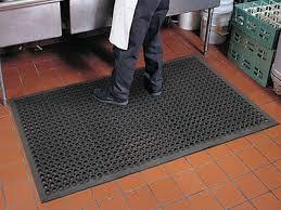 anti fatigue kitchen mats. Tek-Tough Jr. Anti-Fatigue Kitchen Floor Mat - 1/2 Anti Fatigue Mats