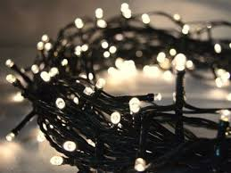 2in1 warm white 200 led fairy lights 20m green cable battery operated