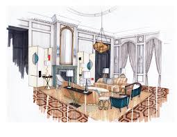 interior design hand drawings. Interior Design Drawing Lovely Free Hand 75 With Additional Decor . Stunning Inspiration Drawings