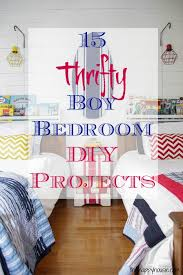 15 thrifty boy bedroom diy projects at thehappyhousie com