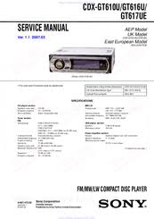 sony cdx gt65uiw wiring diagram wiring diagram and schematic design sony cdx gt65uiw operating instructions page 22