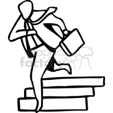 down stairs clipart. Wonderful Down Black And White Business Man Running Down The Stairs Intended Down Stairs Clipart