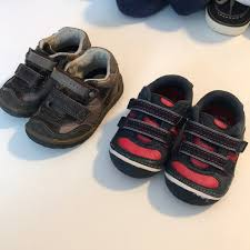 Lot Of 2 Pairs Stride Rite Toddler Size 4 5w