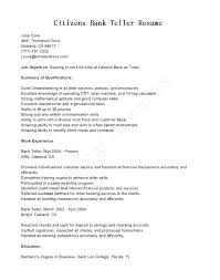 Entry Level Banking Resumes Objective For Bank Resume Resume For A Bank Objective For Banking