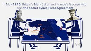 「Sykes–Picot Agreement」の画像検索結果