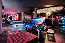 Living Room Bar Dallas Graffiti Piano Nylo Dallas Hotel Southside By 5g Studio 1516
