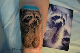подборка тату с енотами 1 20 фото еноты Raccoons сайт