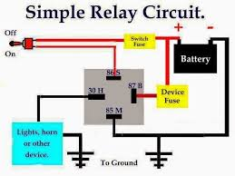 bosch horn relay wiring diagram 4 pin relay wiring diagram with 5 pin bosch relay wiring diagram at 5 Pole Relay Wiring Diagram
