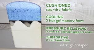 novaform 14 gel memory foam mattress. novaform comfortgrande 14\ 14 gel memory foam mattress