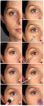 applying foundation makeup for bags under eyes how to cover under eye circles perfectly sole tutorials