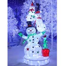 Outdoor lighted christmas decoration snowman Lighted Christmas Decoration Snowman - Buy