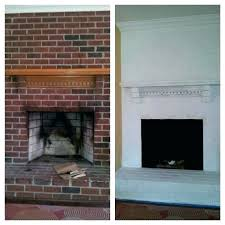 paint fireplace white painting a before and after best image com should i mantel brick oak paint white brick fireplace