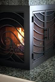 l shaped fireplace screen firepce wi ivg ess th sge firepces muti firepce fan shaped fireplace screen