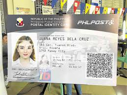 News Postal To Harder Fake Id Improved Inquirer
