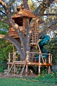 tree house plans for one tree. S.A. Treehouse Creator Shares His Work With The Master - San Antonio Express-News Tree House Plans For One