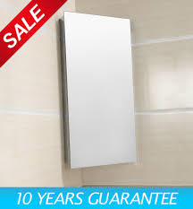 Luxury Stainless Steel Bathroom Cabinet Wall Corner Mirror Storage