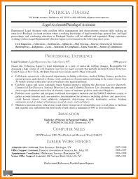 8 Sample Paralegal Resume Affidavit Letter