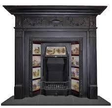 antique cast iron surrounds lightbox