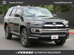 2018 New Toyota 4Runner Limited 4WD at Toyota of Clovis Serving ...