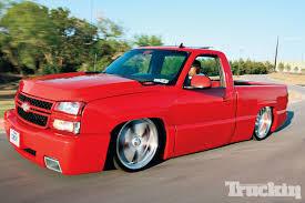 2007 Chevy Silverado - Imitator SS - Static Drop - Truckin Magazine