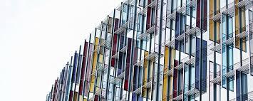 architecture. Colourful Glass London Building Architecture