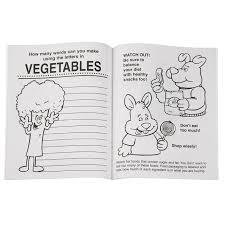 4imprintcom Eat Right Eat Healthy Coloring Book 1034 Eh