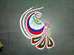 Small Picture how to make small fancy rangoli design YouTube