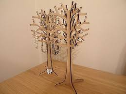 Large Wooden Tree Display Stand