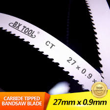 carbide bandsaw blade. carbide bandsaw blade metal cutting tipped band saw
