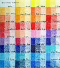 Blick Marker Color Chart Blick Studio Chart1 Colored Pencils Coloured Pencils Pencil