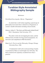 annotated bibliography example chicago turabian style      Annotated bibliography mla citation