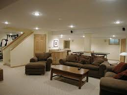 Simple Finished Basement Ideas Rocktheroadie HG Perfect Design Enchanting Basement Idea